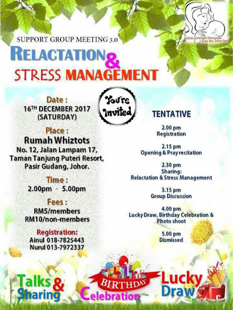 Support Group Meeting 3.0 - Relaction & Stress management