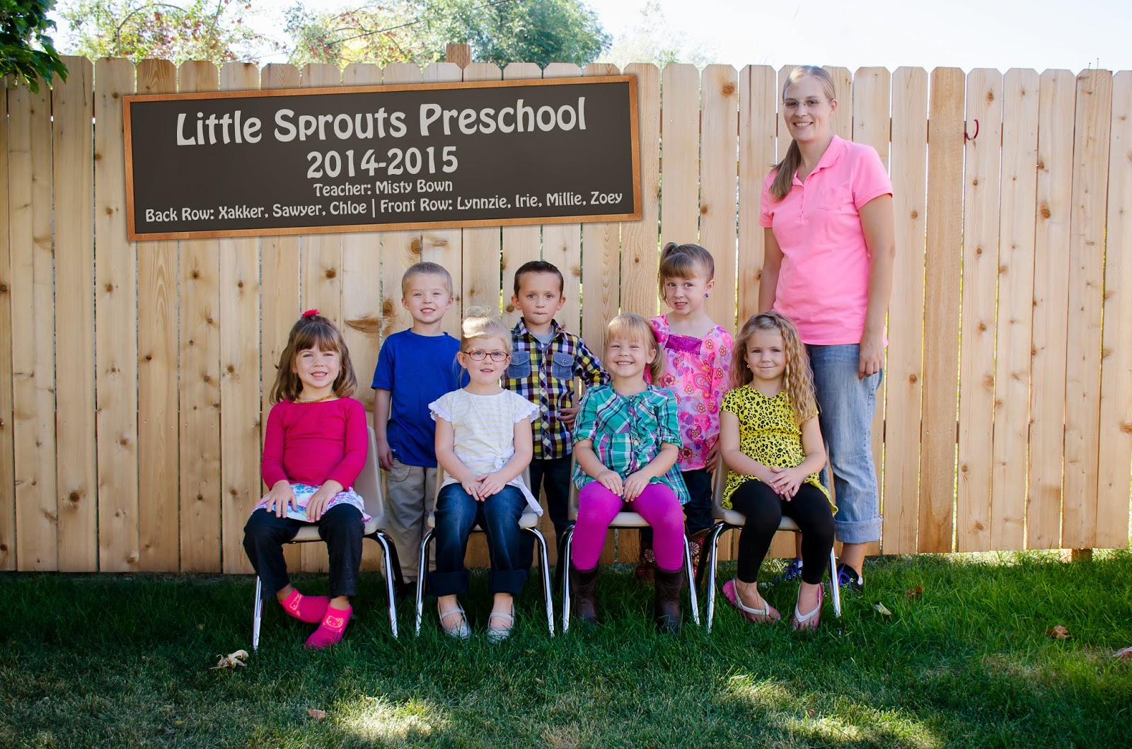 Little Sprouts Preschool | Class Pictures 2014-2015