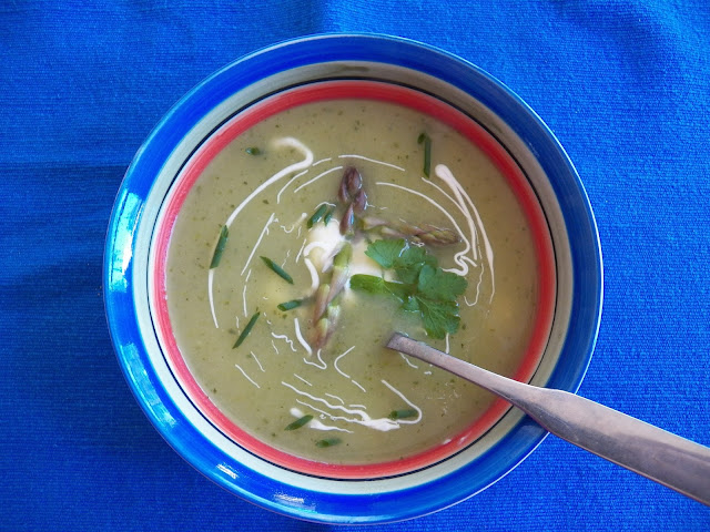 Asparagus and More Soup for #SoupSaturdaySwappers