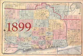 1899 Goad Atlas of the City of Toronto - Key Map