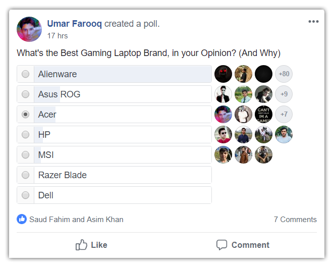 What's the Best Gaming Laptop Brand? (Survey)