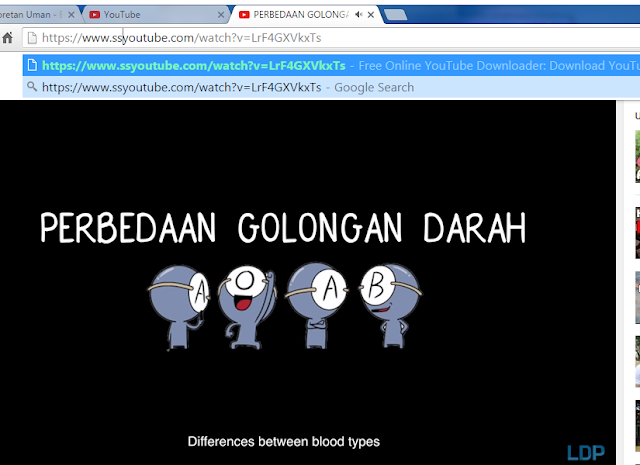 Cara download video atau lagu di youtube menjadi MP3, MP4, 3GP dsb