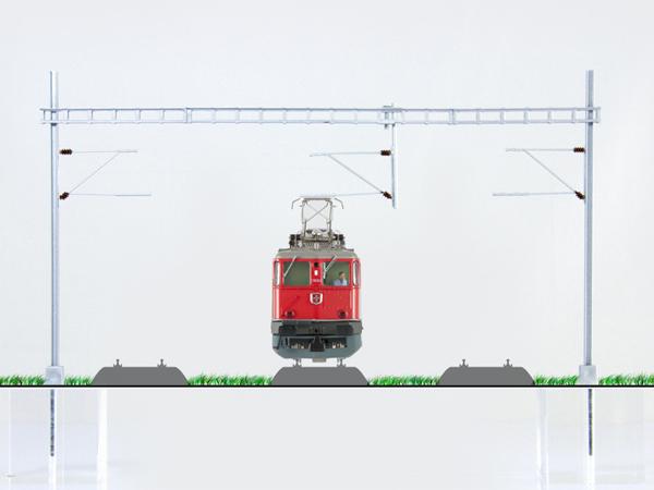 Quertragewerk 3 Gleise