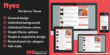 Download Premium Nyeo Wordpress Theme Gratis