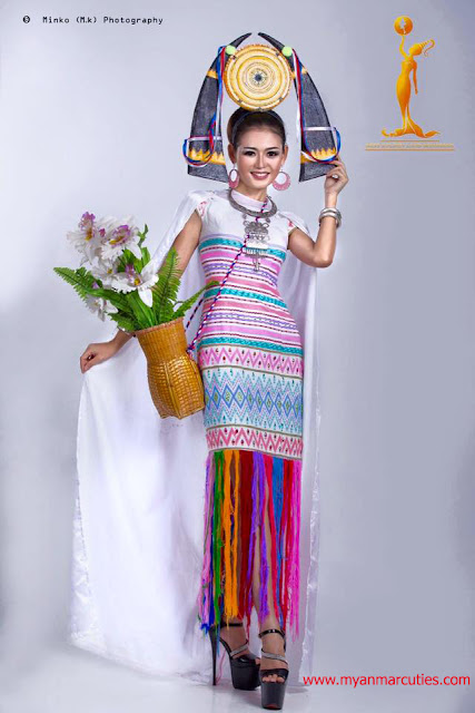 Miss Earth Myanmar 2016 Nan Khine Shwe Wah Win