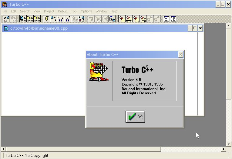 Free download of turbo c software for windows xp.