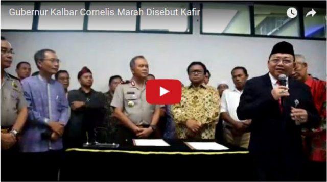 Gubernur Cornelis Marah dan Akan Polisikan yang Sebut Dirinya Kafir