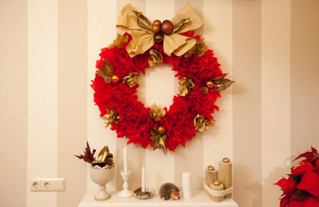 coronas navideas muy originales diy - Coronas Navidad