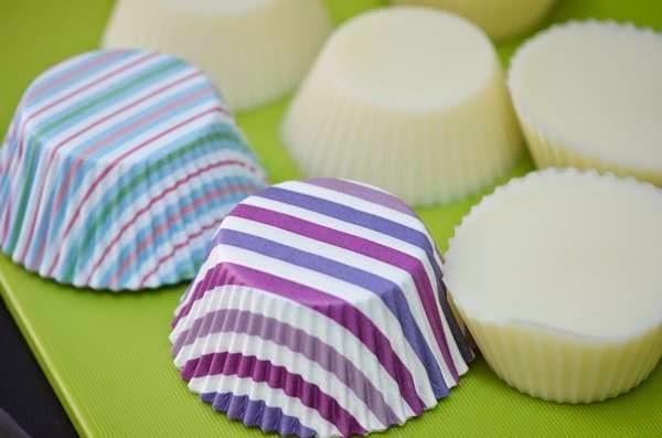 Recetas para hacer cupcakes de baño.