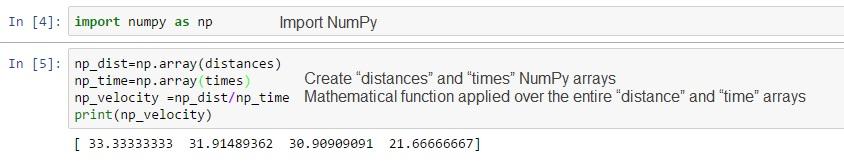 DataScience With Python/R/SAS: Basic Python   Numpy for Mathematical