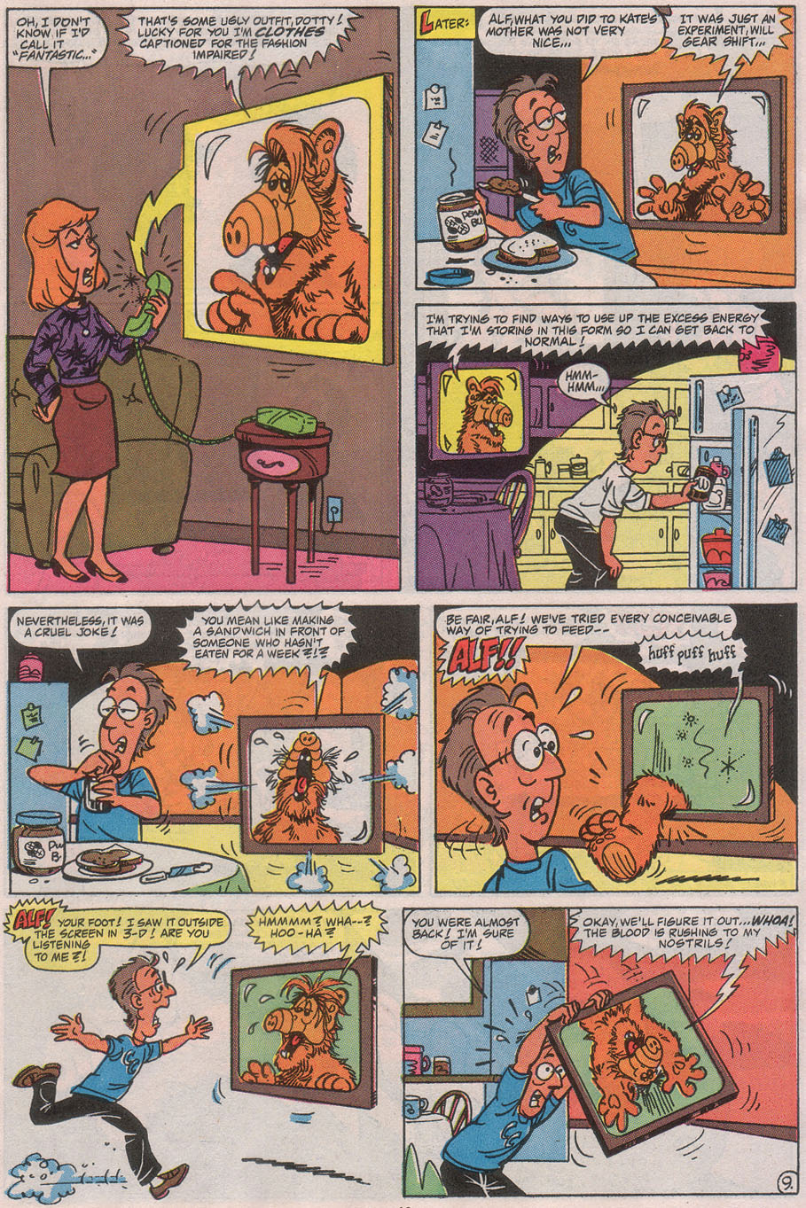 Read online ALF comic -  Issue #41 - 15