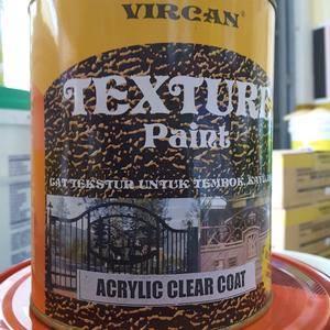 Apakah Anda pernah mendengar mengenai cat Vircan Jasa Cat Tekstur Vircan