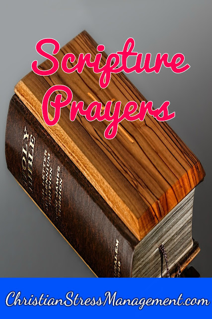 Scripture prayers
