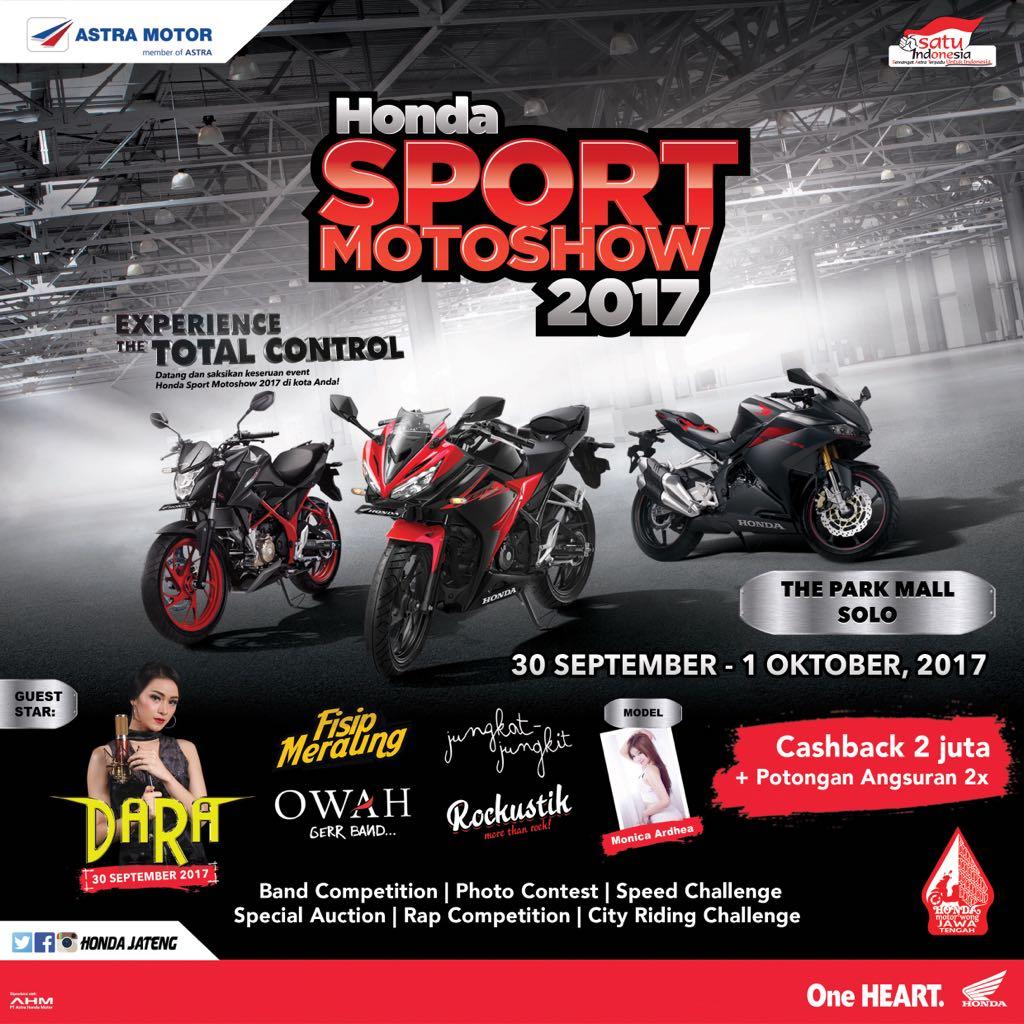 Event Honda Sport Motoshow 2017 - Solo