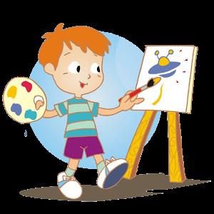 Cara Mewarnai Gambar Anak - Warna Key