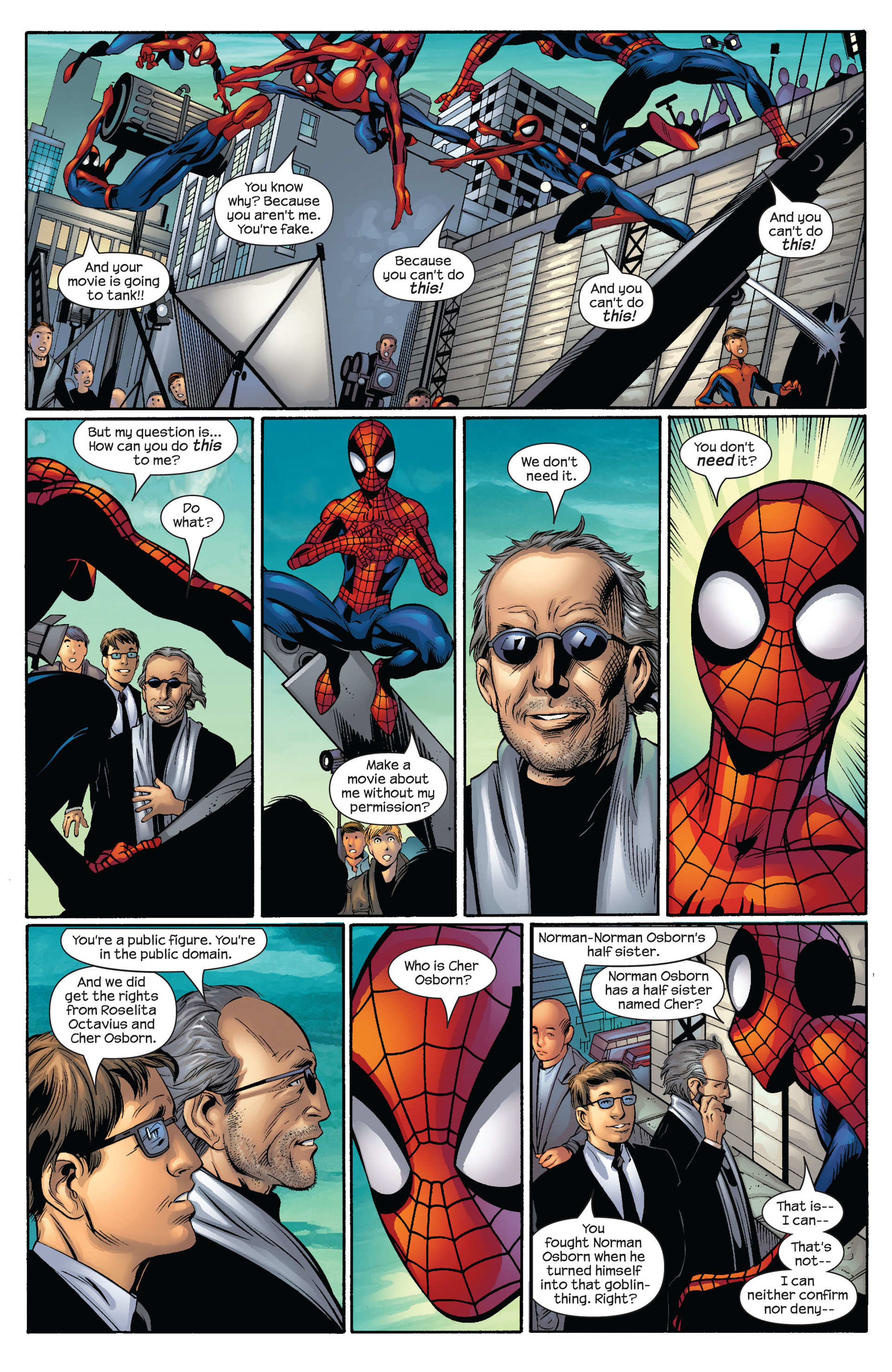 Read online Ultimate Spider-Man (2000) comic -  Issue #54 - 17
