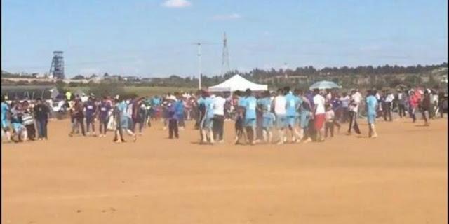 VIDEO, Jugador es ejecutado por sicarios en pleno partido de fútbol