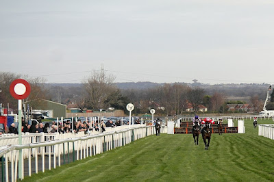 Aintree finishing post