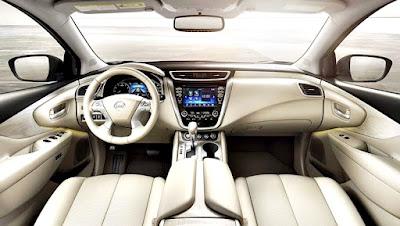 Nissan Murano 2017 interior white