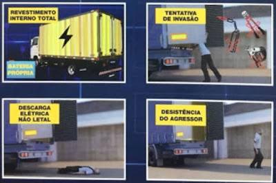 T4S Tecnologia lança blindagem elétrica para caminhões