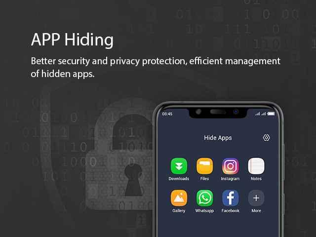 Better app hiding