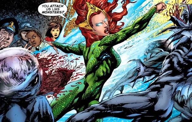 siapa mera adalah, Kekuatan Mera (DC Comics)