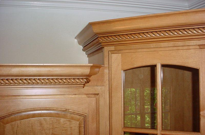 Install Crown Molding On Kitchen Cabinets Home Interior