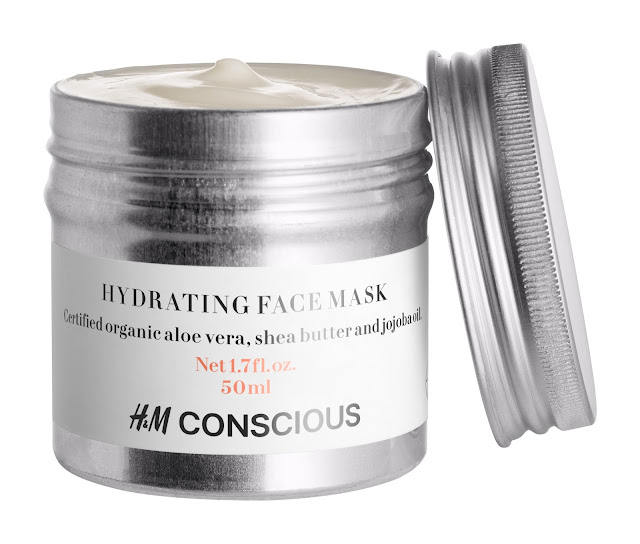 Conscious Beauty, H&M, hydrating face mask