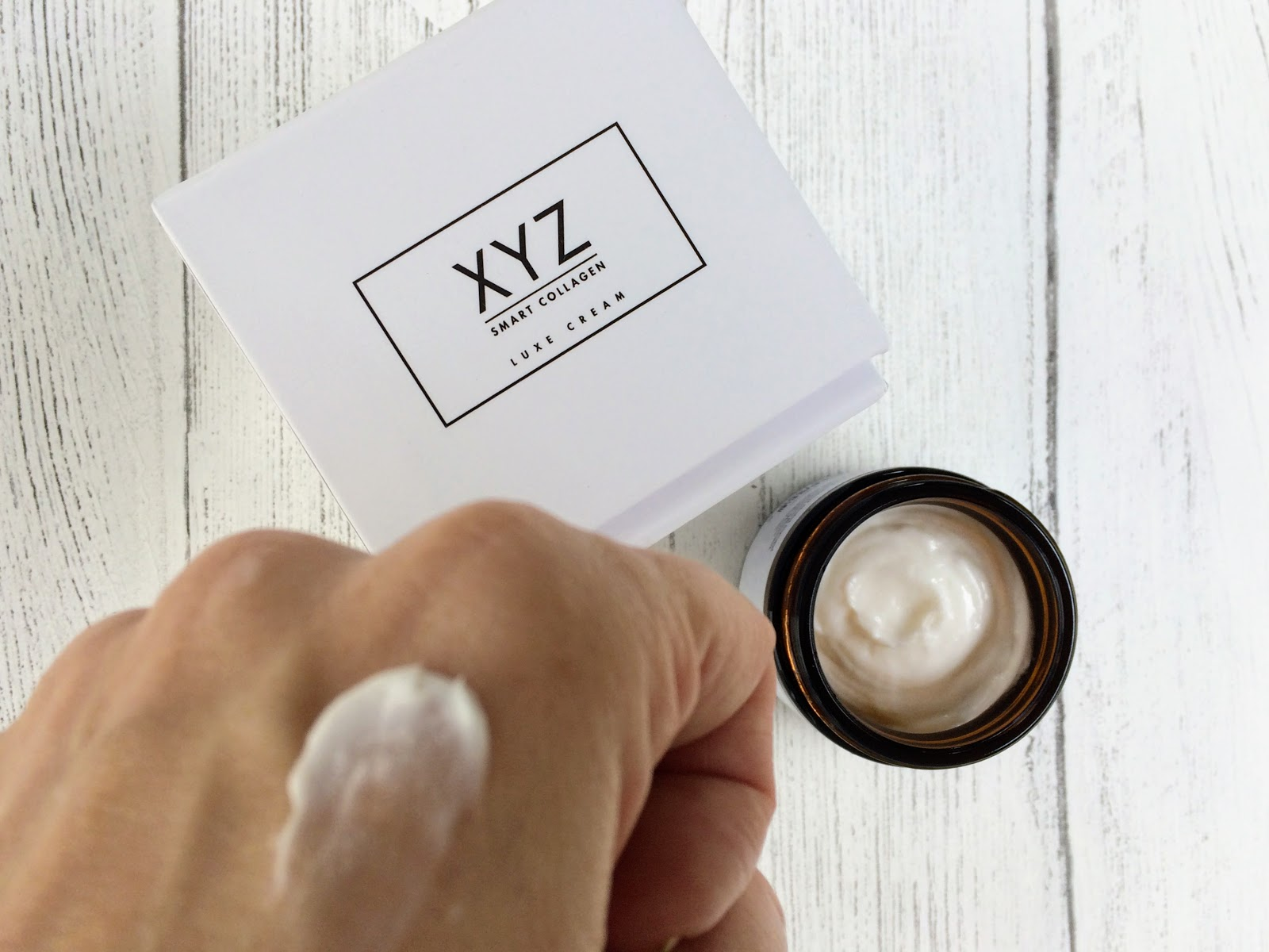 XYZ smart collagen on hand
