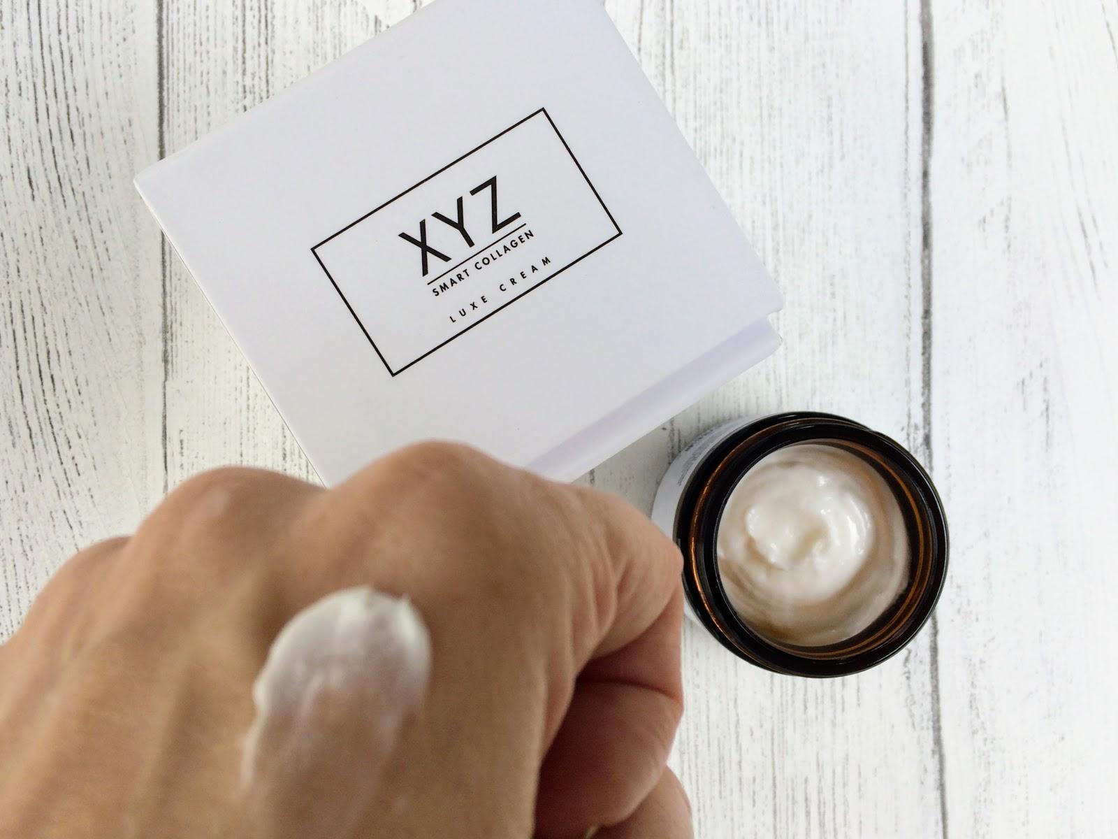 XYZ smart collagen on hand