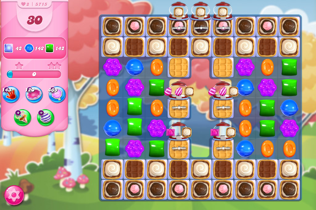 Candy Crush Saga level 5715