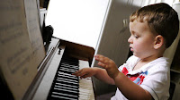 Boy on the Piano