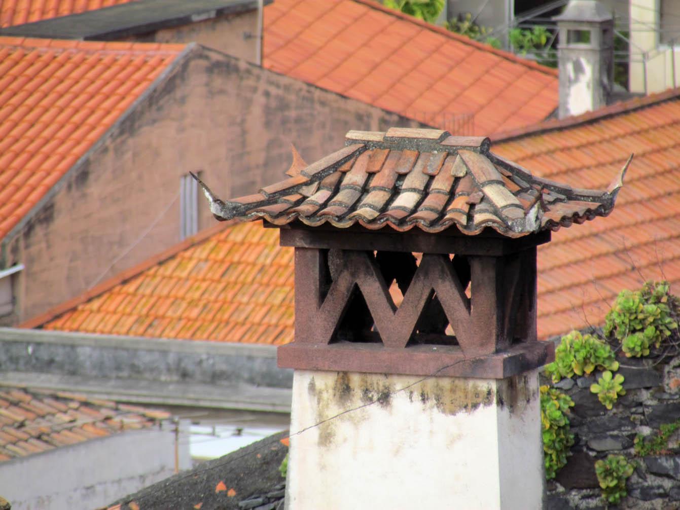 chimney in Santa Clara convent