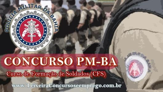novo edital é anunciado Concurso PMBA 2019