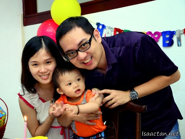 My family, Happy Birthday Baby Martin!
