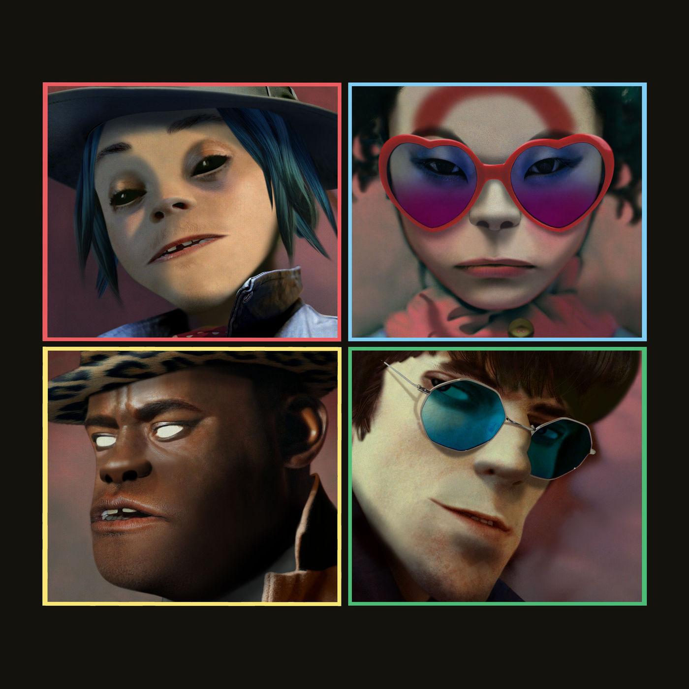 Gorillaz - Let Me Out (feat. Mavis Staples & Pusha T) - Single Cover