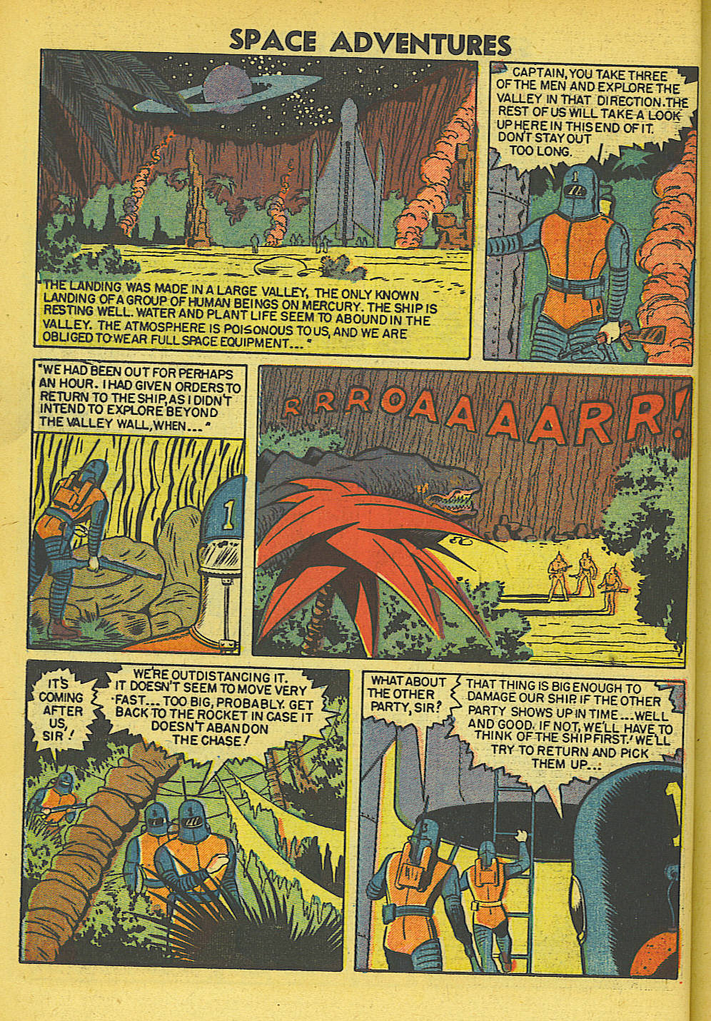 Space Adventures (1952) issue 5 - Page 9