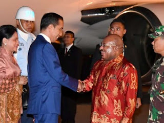 Sebelum KTT APEC di PNG, Jokowi ke Merauke Resmikan Monumen Kapsul Waktu