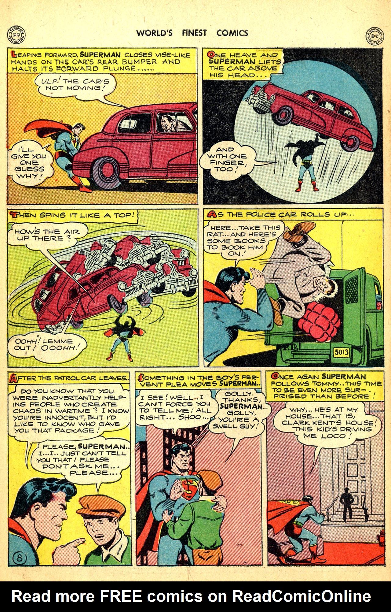 Read online World's Finest Comics comic -  Issue #18 - 10