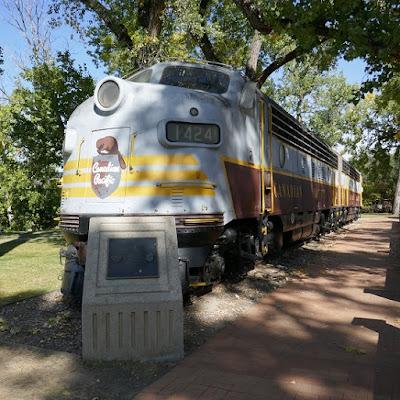 trains, Medicine Hat, Alberta, historic, park