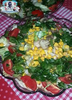 mantarli diyet salata tarifi, mantarli salata tarifi, diyet salata tarifleri