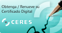 Alta sistema red: certificado digital