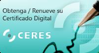 Alta sistema red: certificado digital