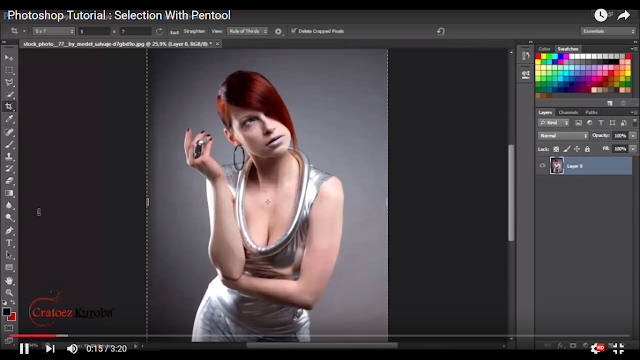 Photoshop Tutorial : How To Selection With Pentool