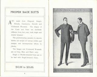 Description and image of Proper Sack Suit