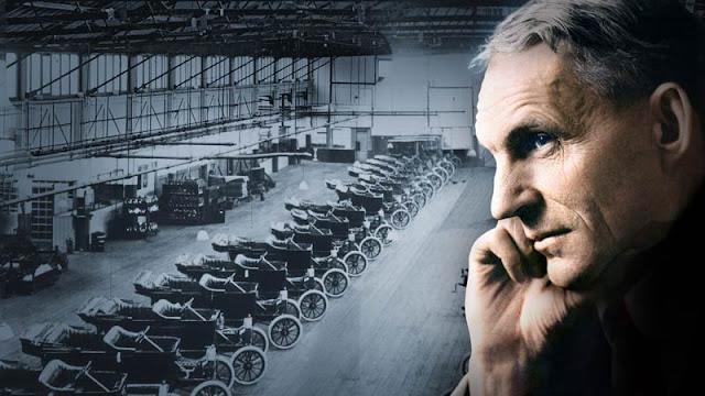 lari kecil menuju sekolahnya yang berjarak kurang lebih  Henry Ford Sang Penemu Mobil