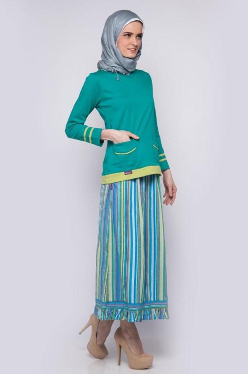 model IGO konsep foto hijab dalam ruangan dengan tips sederhana ligthing ala dewi sandra