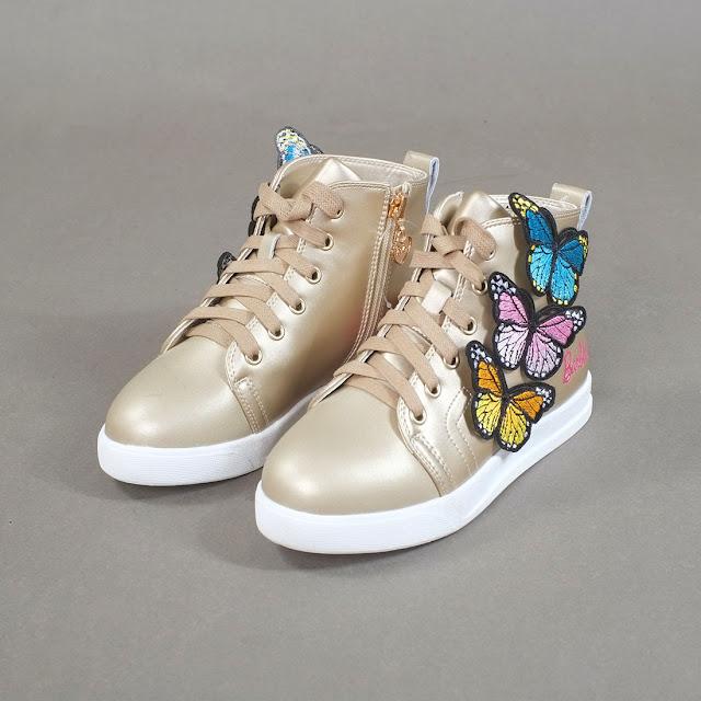 3 mẫu giày thể thao trẻ em thời trang