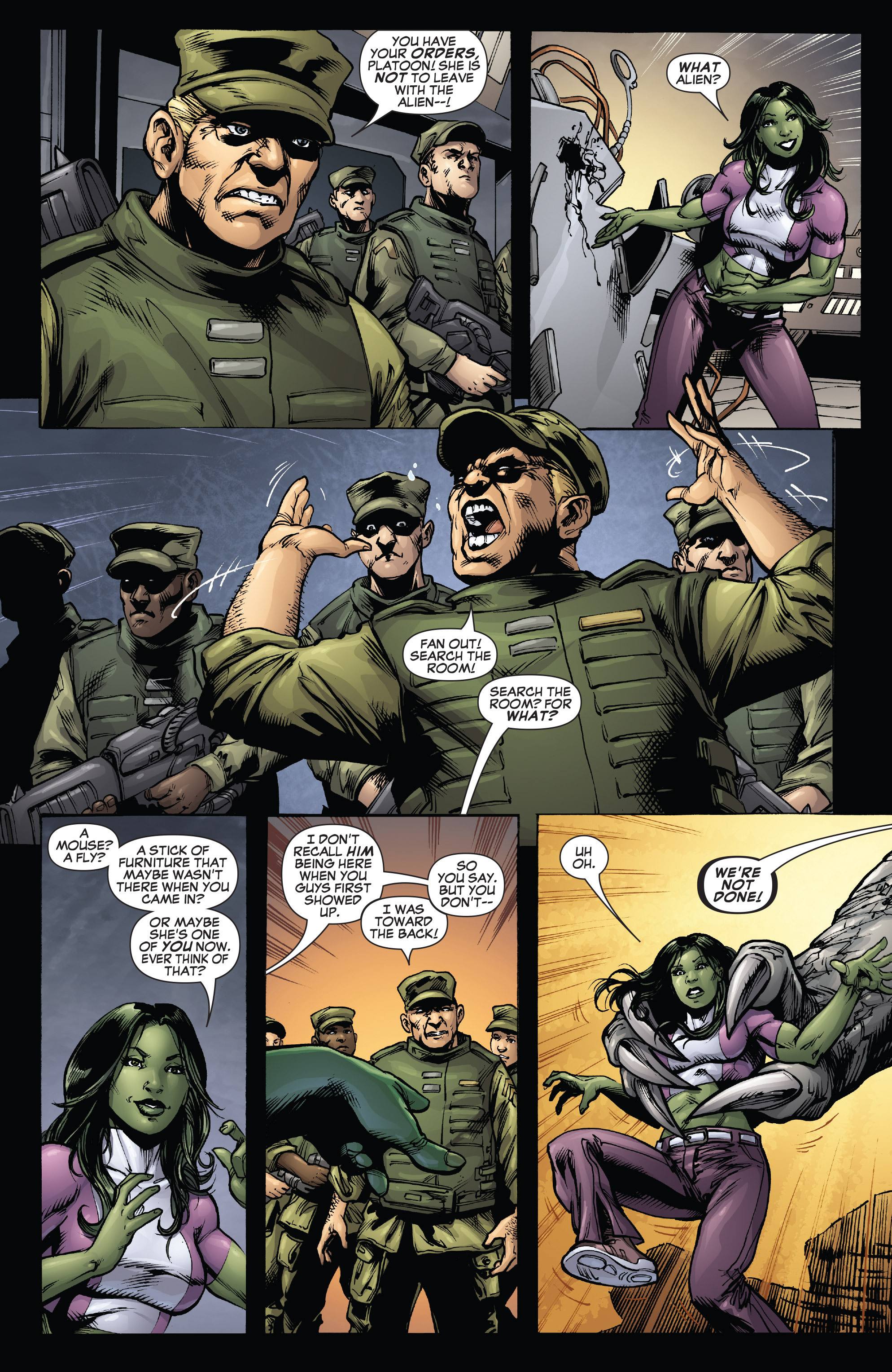 Read online She-Hulk (2005) comic -  Issue #38 - 28