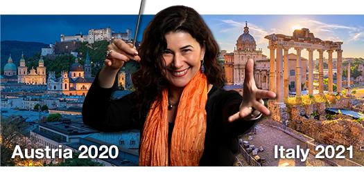 KIconcerts Austria 2020 and Italy 2021 choir festivals with Elena Sharkova